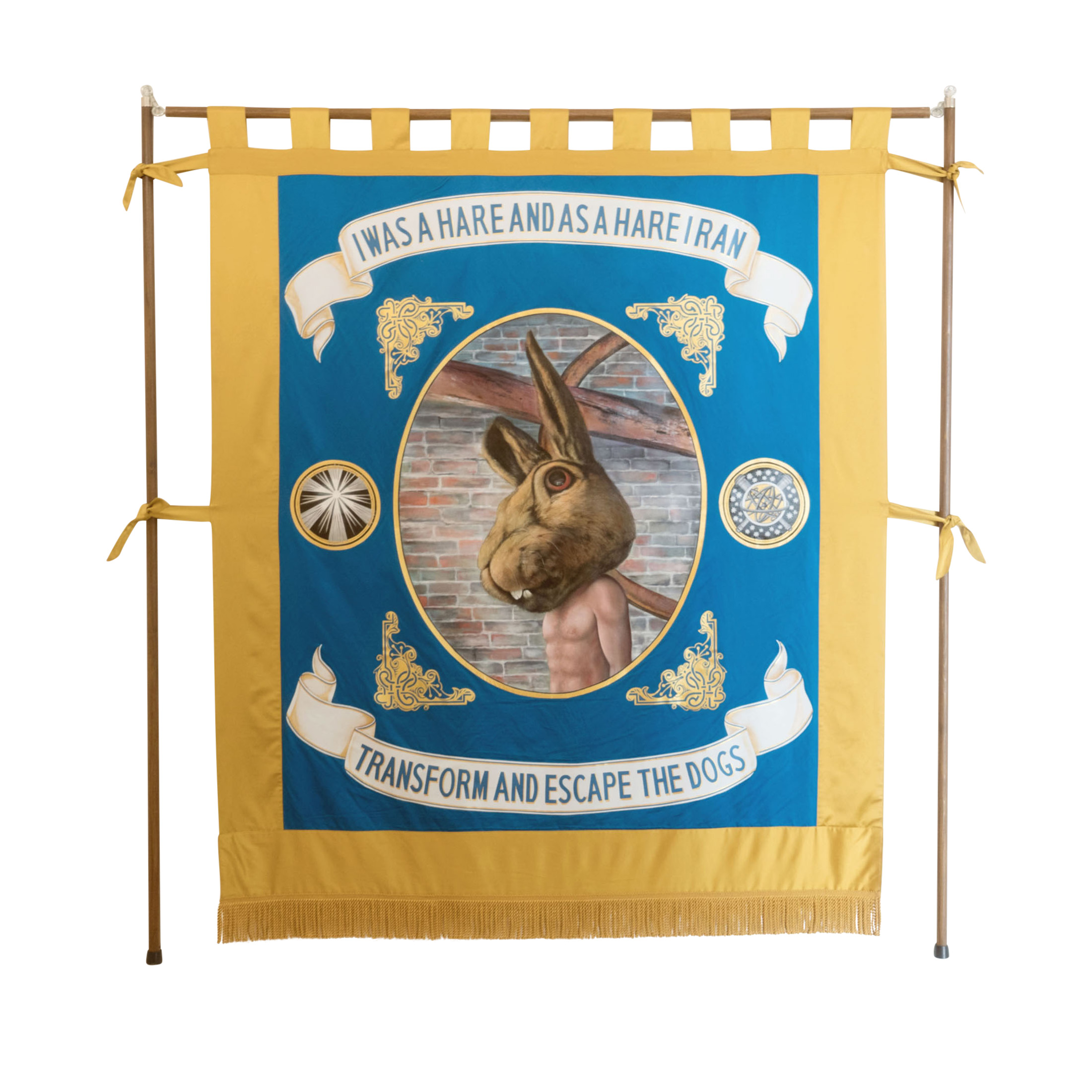 Jamie-Holman-I-was-a-Hare-and-a-Hare-I-Ran-Banner
